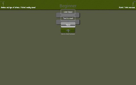 Speed reading game screenshot 8