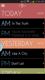 Daily Bible Devotion screenshot 00