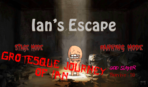 Ian's Escape : Horror Shooting screenshot 0
