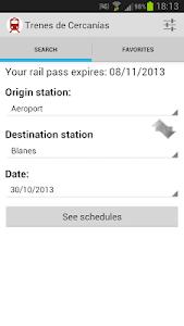 Spain Commuter Trains screenshot 0