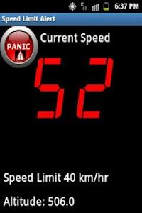 Speed Limit Alert screenshot 2