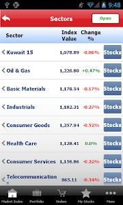 Gulf Bank Mobile Trader screenshot 6