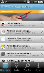 Handwerker App screenshot 2