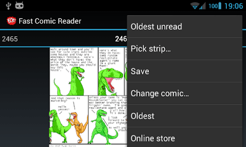 Fast Comic Reader screenshot 3