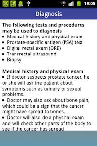 Prostate Cancer screenshot 2