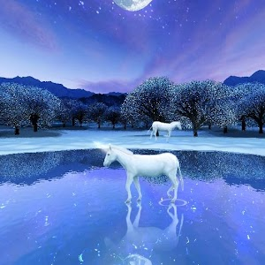 Falling Snow Live Wallpaper Apk Download Unicorn Lake Apk On Pc Download Android Apk