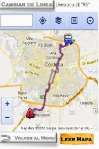 Colectivos Cordoba screenshot 3