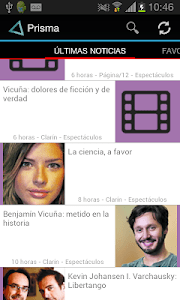 Prisma News Reader screenshot 1