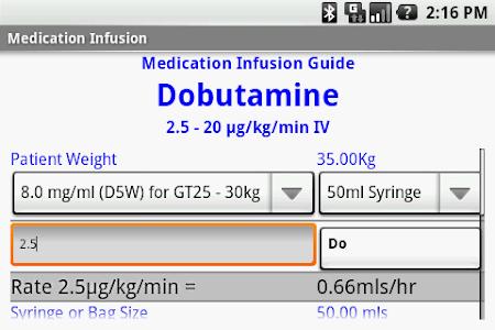 Medication Infusion screenshot 0