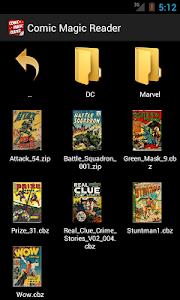 Comic Magic Reader screenshot 0