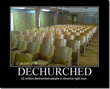 dechurched