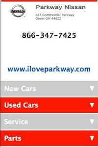 Parkway Nissan screenshot 0