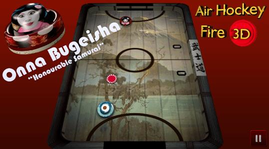 Air Hockey Fire 3D screenshot 3