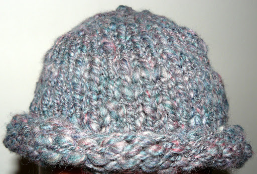 first handspun hat