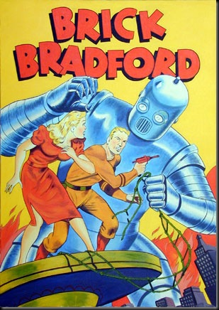 Brick Bradford in  Comic Book