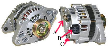 ka24de alternator wiring diagram car headlight relay nissan pathfinder | get free image about