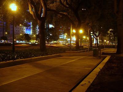 Buenos Aires de noche (Avenida 9 de julio)