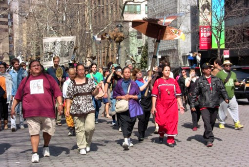 lakota march on UN