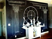 Chalkboard Paint Wall: Blue Ribbon Award