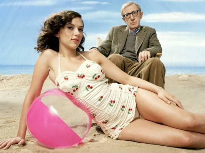 Scarlett Johansson creció como actriz de la mano de Woody Allen