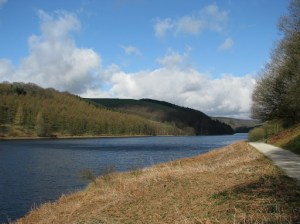 Ladybower Reservoir from path