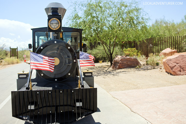 Train Ride at Springs Preserve Las Vegas.