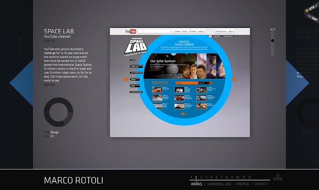 *UI界面非常完善的個人作品網:Marco Rotoli Web Site 2