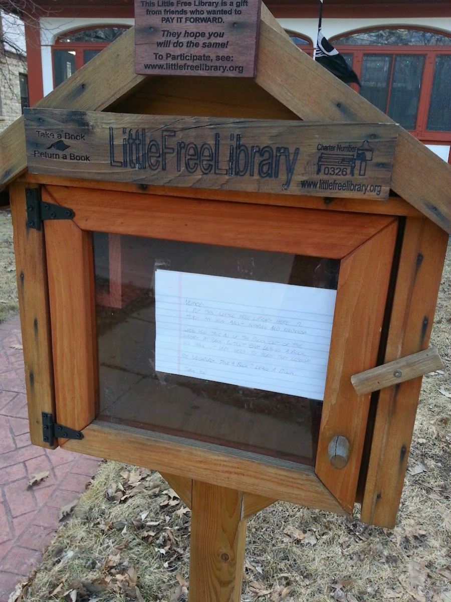 Near my apartment, Little Free Library