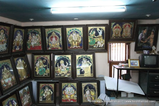 The Famous Tanjore Paintings In A Local House At
