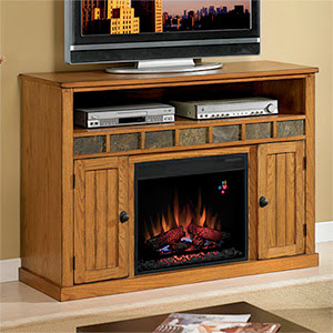 fireplace entertainment center