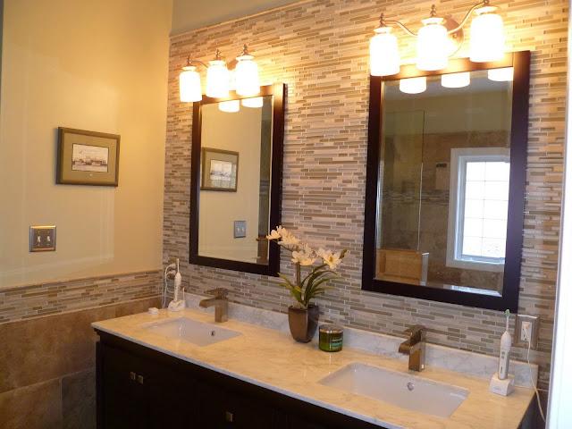 EarthTone Bathroom Tiling Project  Sea Haggs Hampton Roads Tile Installation