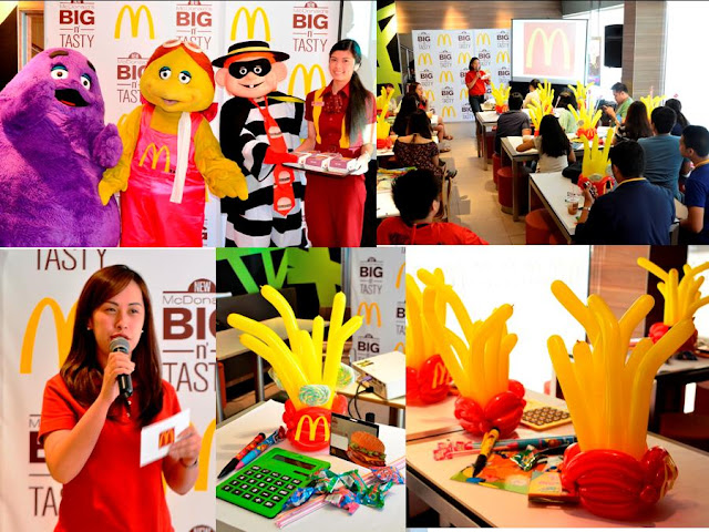 McDonald's Big N' Tasty product launch