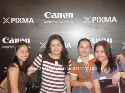 Mommy Bloggers at canon pixma event 2011