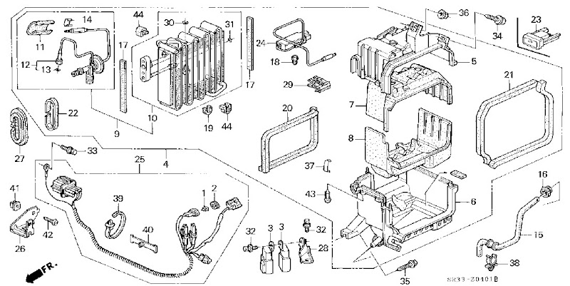 91 Accord Engine Bay Diagram, 91, Free Engine Image For