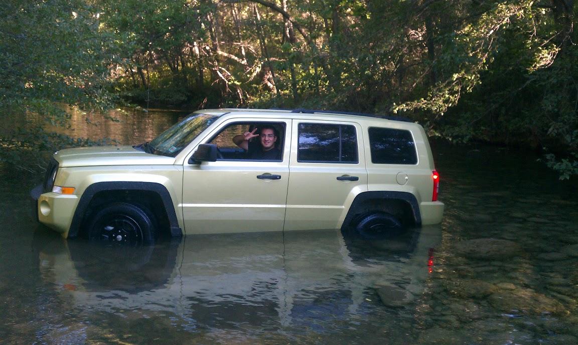 Water fording floor leak  Jeep Patriot Forums