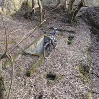 Le champ de tir allemand de la Hardt