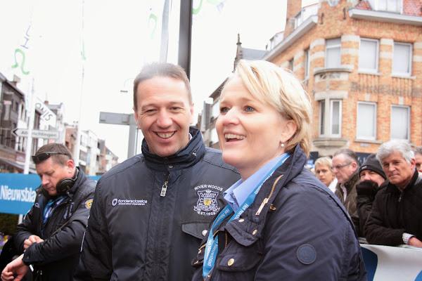 Bjorn Leenknegt en Nathalie Muylle
