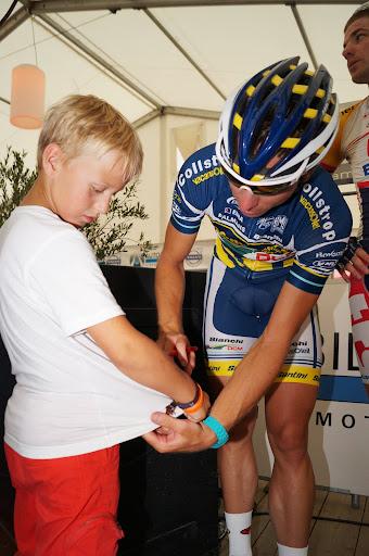 Yaurick Leenknegt en Kris Boeckmans