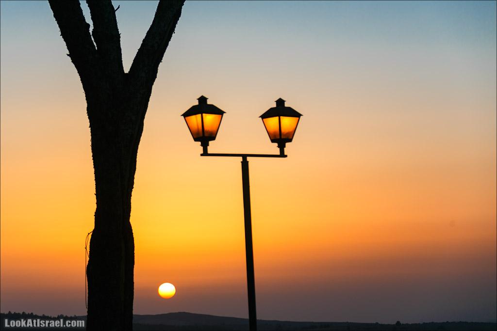 Лампочки заката