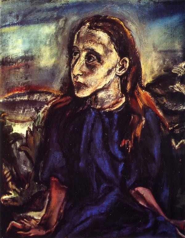 Van Gogh' Ear. Year Oskar Kokoschka