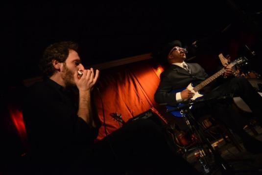 וויליאמס ודורצ'ין, בלוז. צילום: יובל אראל