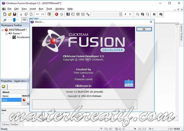 Clickteam Fusion 25 Developer Full Version  MASTERkreatif