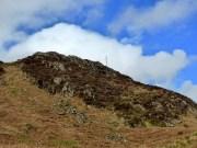 An old radio mast on Muncaster Fell