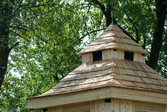 DSC 8956 Stara dzwonnica w nowej krasie