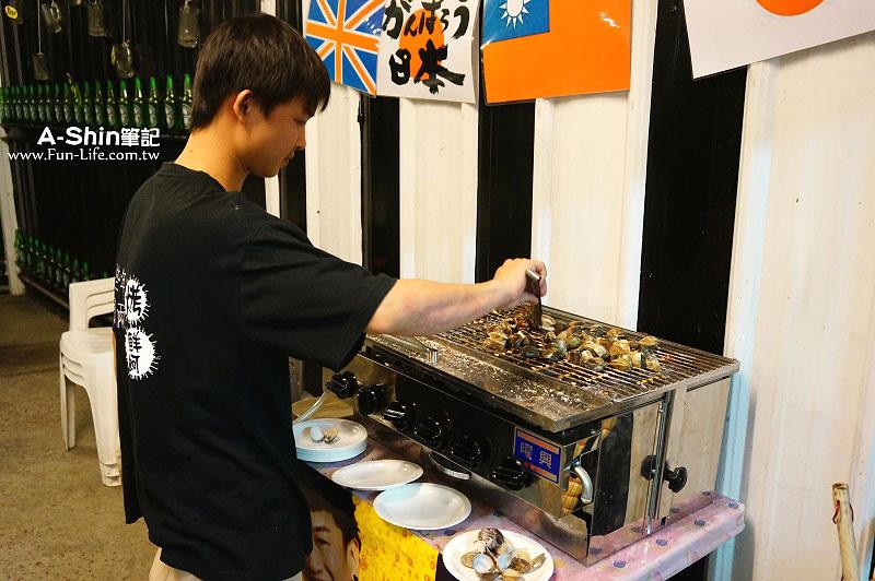 龍井海鮮燒烤-那兩蚵烤鮮蚵7