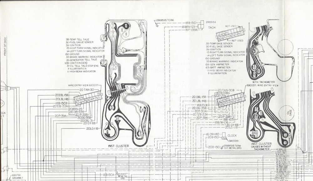 medium resolution of this shows the bulkhead fitting and the tan circuit 30 wire and which cavity it occupies passenger compartment on the right engine compartment on the