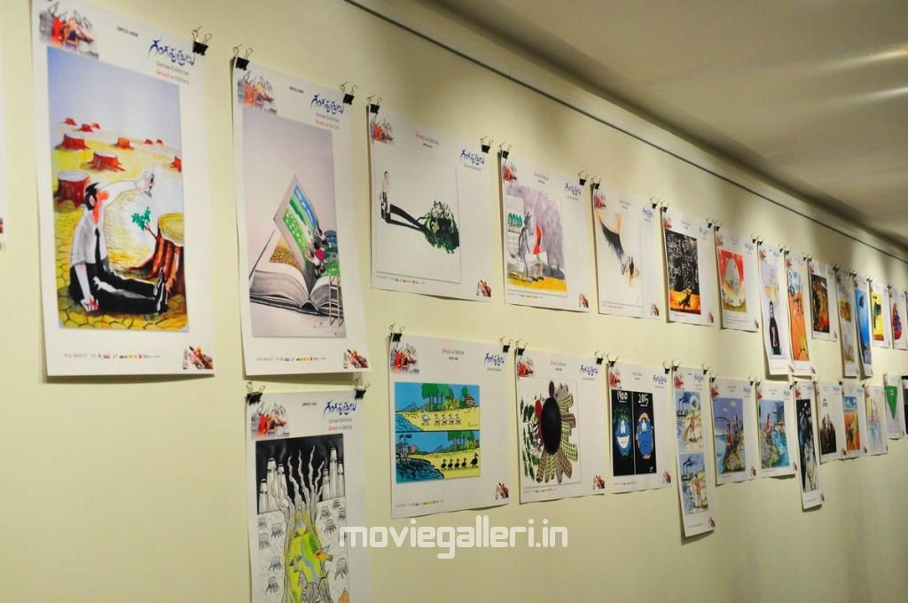 Samantha Hd Wallpapers In Saree Gangaputrulu Movie Cartoon Exhibition Photos New Movie