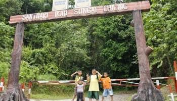 pintu gerbang santuari ikan sungai chiling