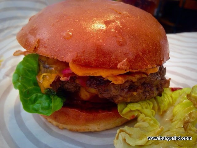 Patty and Bun ARI GOLD Cheeseburger