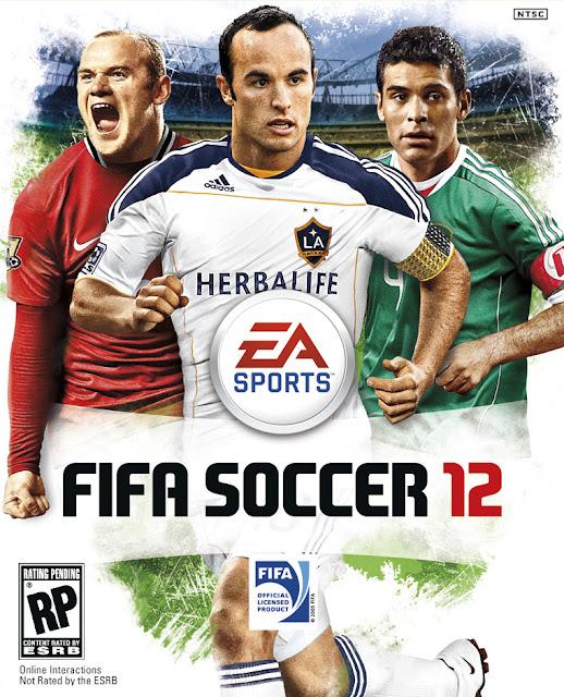 americadonorte FIFA 12: Capas norte americanas divulgadas